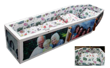 Personalised coffin