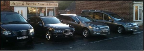 Ayton and District Funeral Cars.