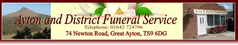 Ayton and District Funeral Service, site logo.
