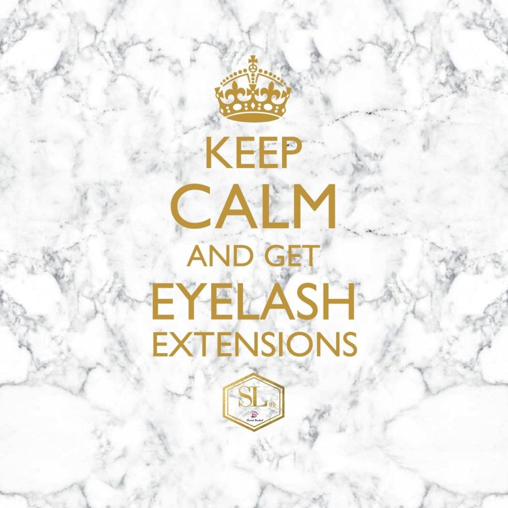 LUXURY KEEP CALM POSTER