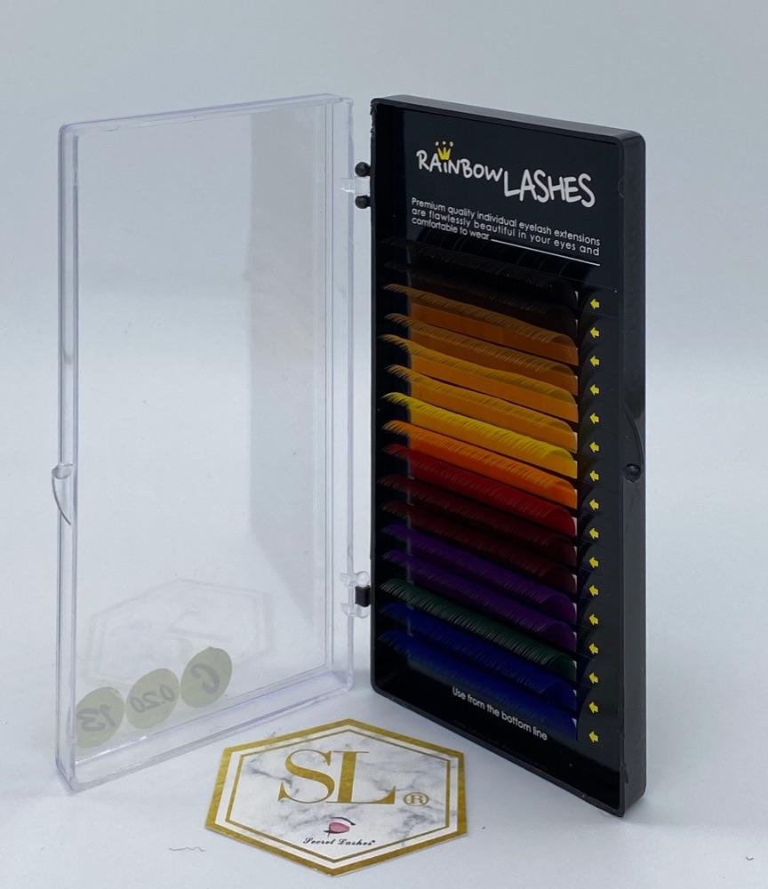 Rainbow Lash Mixed Colour Trays