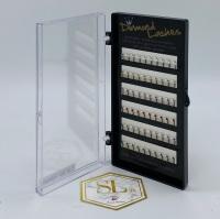 Diamond Jewel Lashes C-Curl 0.20 Multi Colour Tray