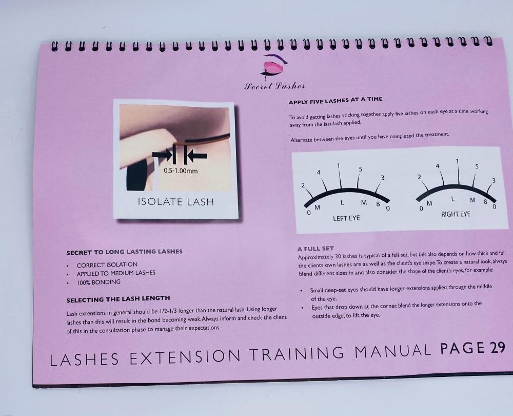 Eyelash Extension Training Manual