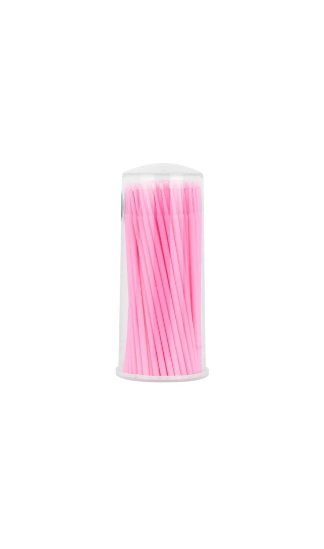 Pink Microbrushes 100 pcs