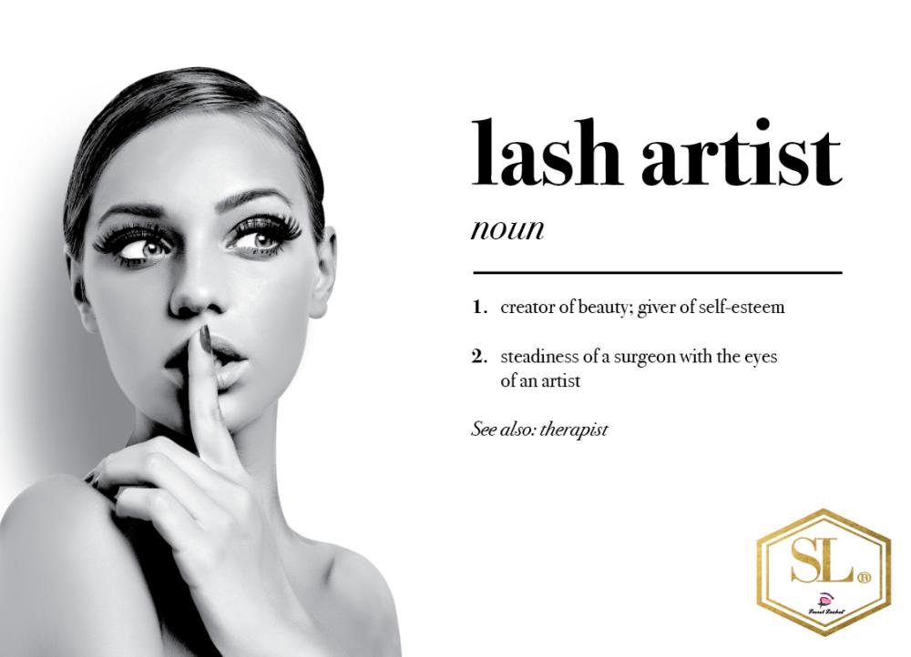 Lash Artist Poster