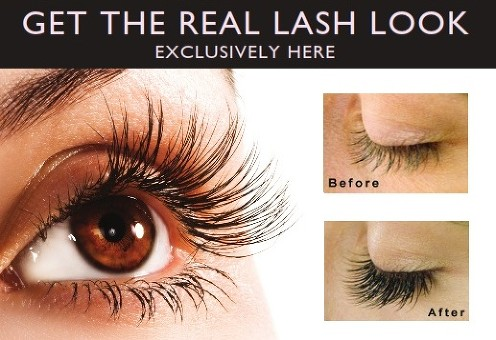 Get real lash look - Exclusively here