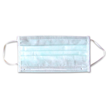<!-- 0027 -->Disposable therapist face mask x 5
