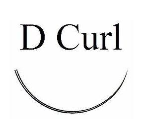 D curl black eyelash extensions - Bag 1g