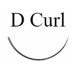 D Curl Black Eyelash Extensions - Bag 1g