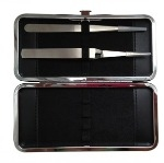 Eyelash Tweezers Tools Hard Case Holder