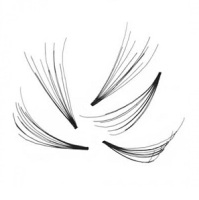 Party Flare Lashes 300pcs SMALL 9mm Length