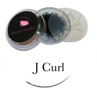 <!-- 0001 -->J Curl Eyelash Extensions - Pot 1g