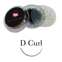 D Curl Eyelash Extensions - Pot 1g