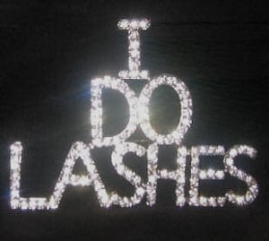 <!-- 0001 -->Promotional Lash Badge - I DO LASHES