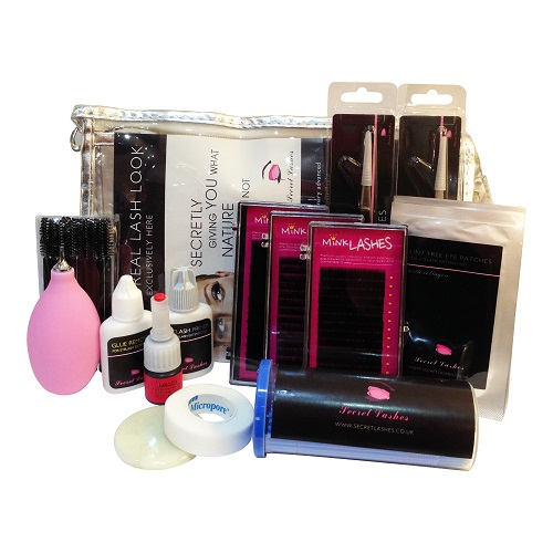 Semi-permanent Eyelash Extensions Student Kit Mink Trays