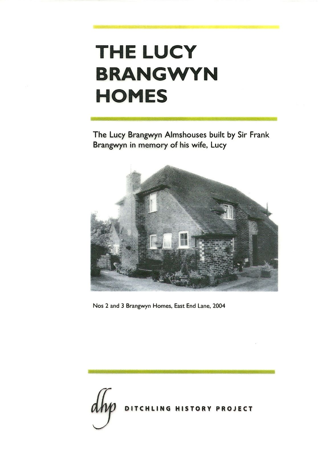 Lucy Brangwyn Homes