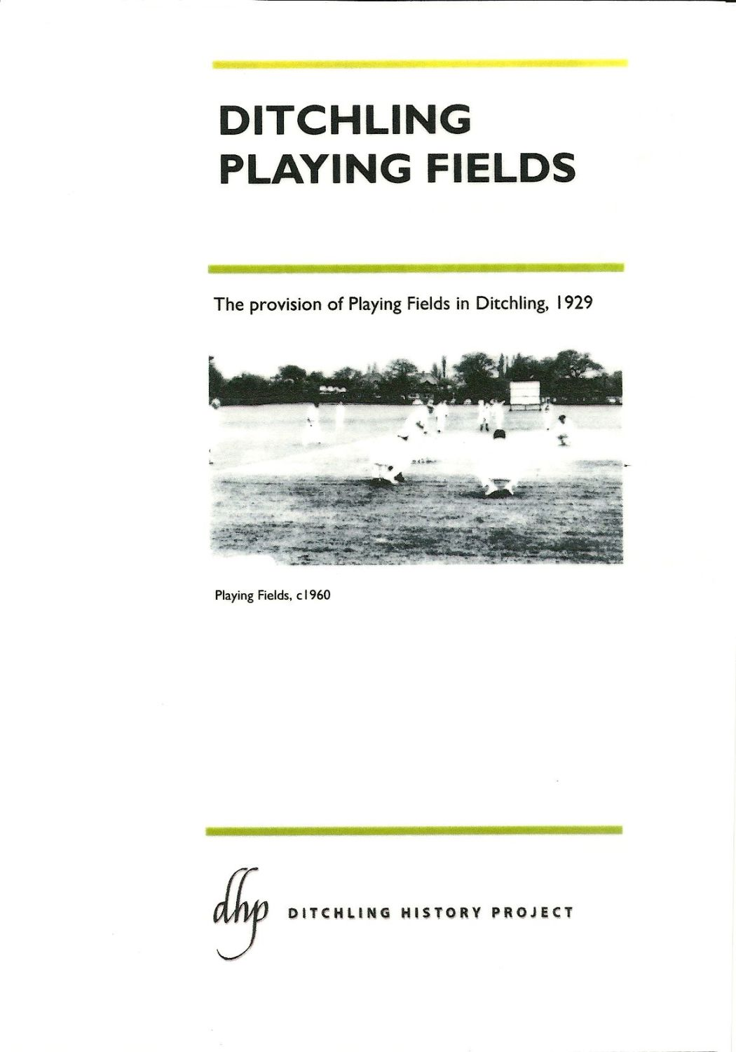 Ditchling Playing Fields