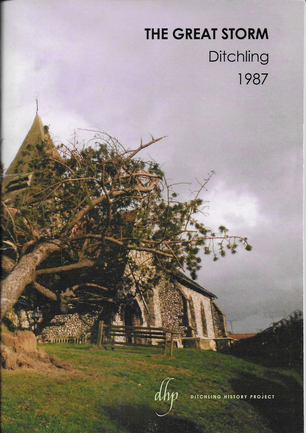 The Great Storm - Ditchling, 1987