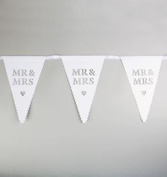 Mr and Mrs Paper Bunting