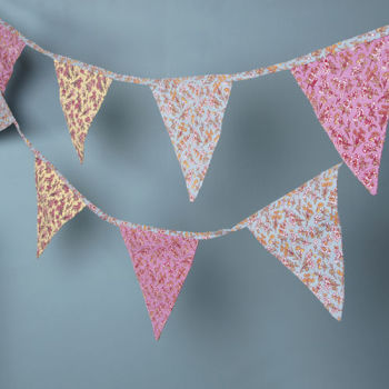 Sass and Belle Floral Bunting Grace