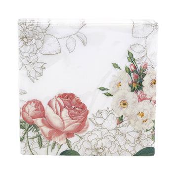 Blossom and Brogues Napkins