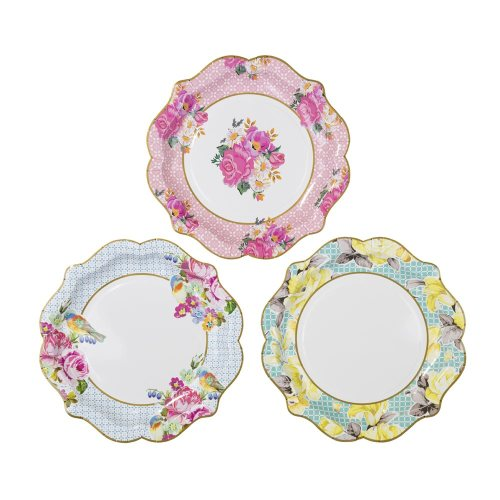 Truly Scrumptious Party Paper Plates - Medium