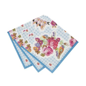 Truly Scrumptious Floral Napkins