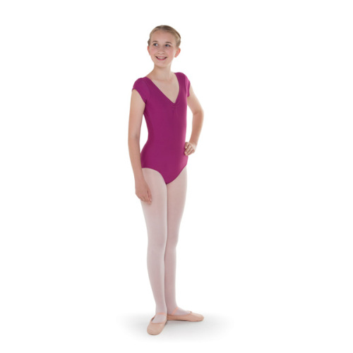 ABD Rose Cap Sleeved Leotard for Grades 1 - 4