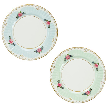 Truly Scrumptious Large Floral Serving Plates