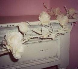 Cream Rose Garland