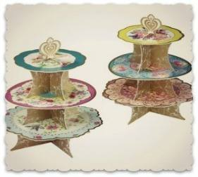 Truly Scrumptious Vintage Style Cake Stand