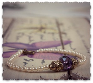 Pearl and Links Bracelet