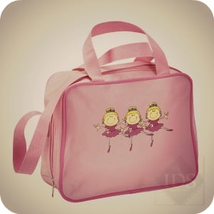 Three Ballerinas Dance Bag