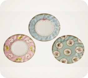 Frills and Frostings Party Paper Plates