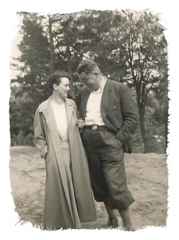 Mum and Dad 1930s edged