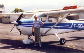 John with plane