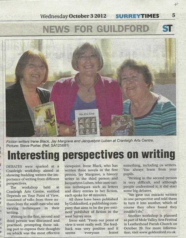 Surrey Times 3rd Oct 2012