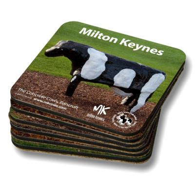 Milton Keynes Concrete Cows Coasters - Set of 6
