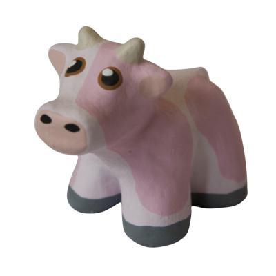 Mini Concrete Cow, Small, Pink