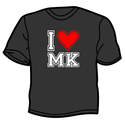I Love Milton Keynes T-shirt (Black)