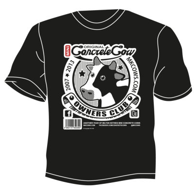 Concrete Cow Owners Club t-shirt
