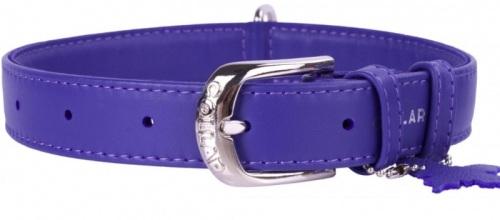Soft Leather Violet Collar