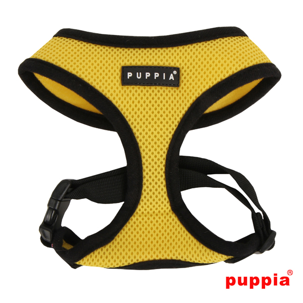 Puppia Mesh Harness Yellow