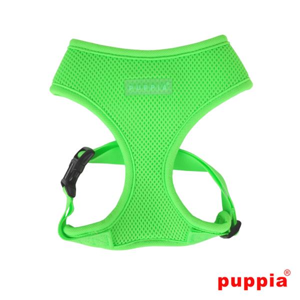 Puppia Mesh Harness Neon Green