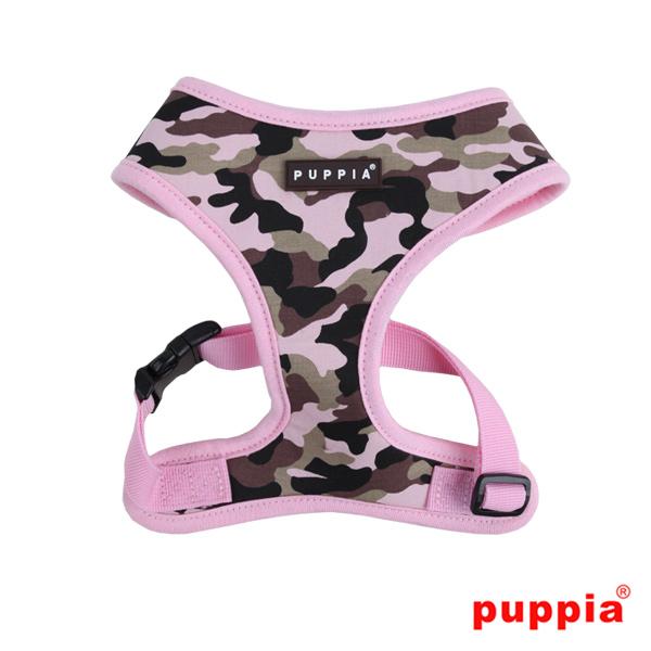 Puppia Harness Camo Pink
