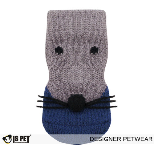 Mouse socks navy