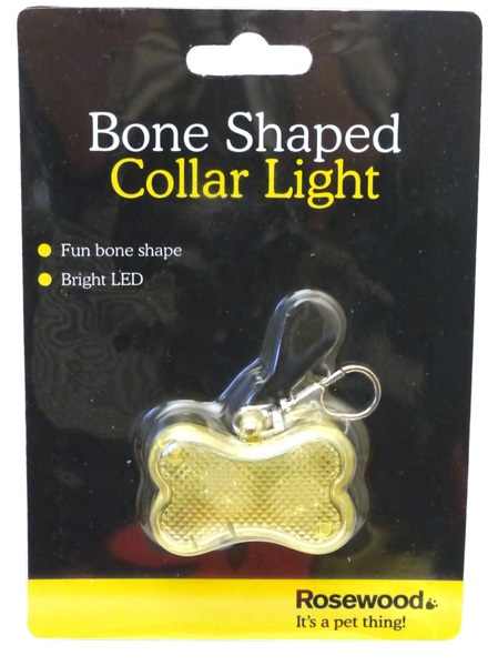Bone Shaped Collar Light