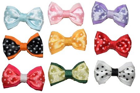 Glam Dots Bow