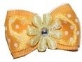 Daisy and Dots Bow