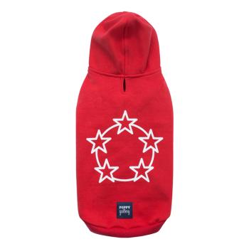 Stars hoodie Red